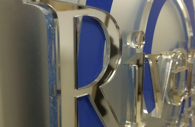 corporate logo laser cutting2