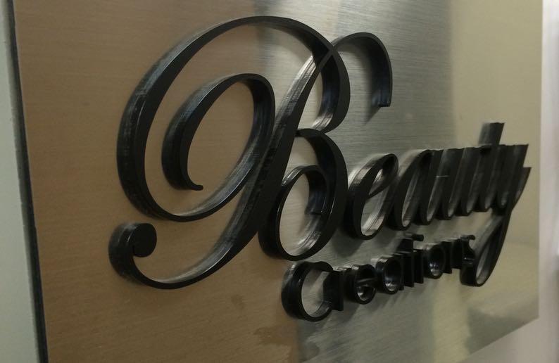 corporate logo laser cutting4