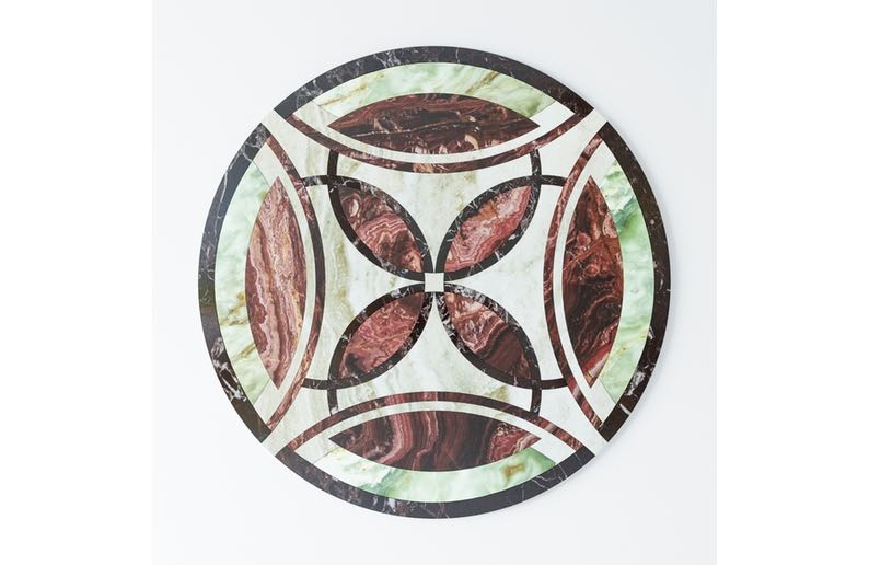 floor medallion waterjet cutting18