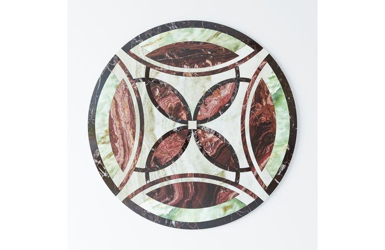 floor medallion waterjet cutting4