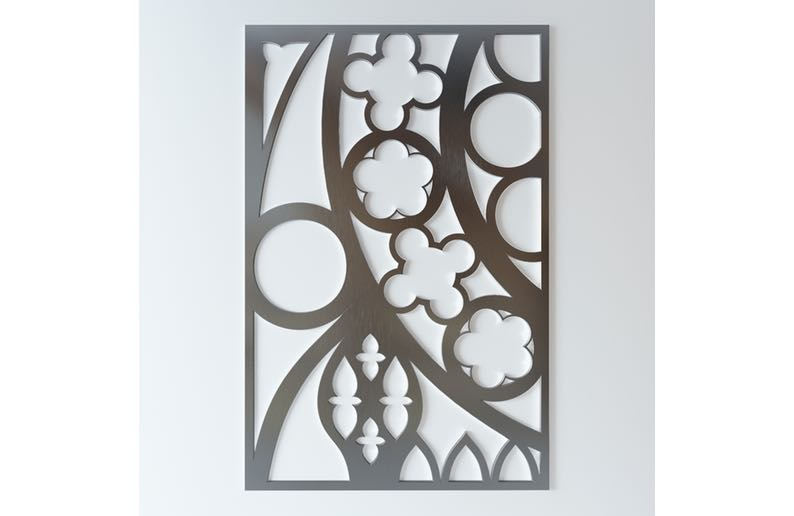 Decorative Screens Waterjet Cutting3