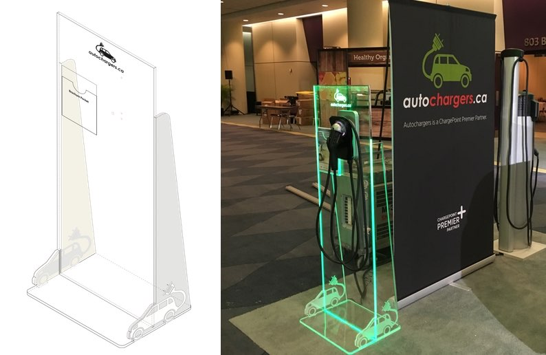 Retail display laser cutting Toronto